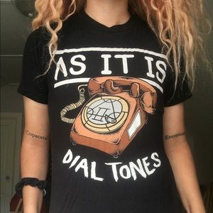 As it is dial tones shirt